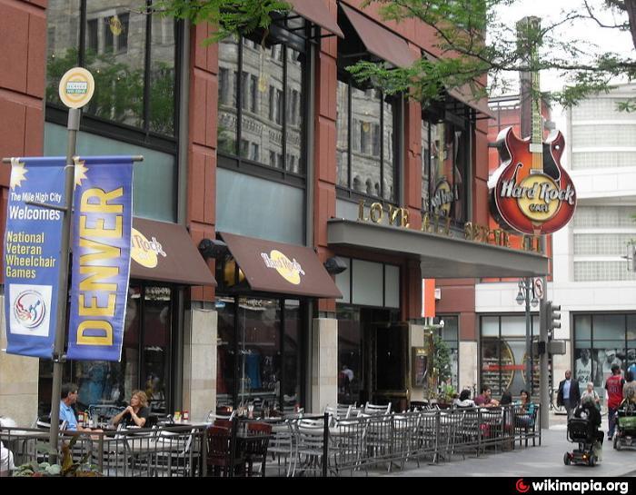 Hard Rock Cafe Denver Pavilions