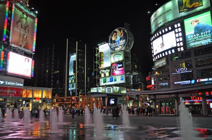 Yonge-Dundas Square - Toronto, Ontario