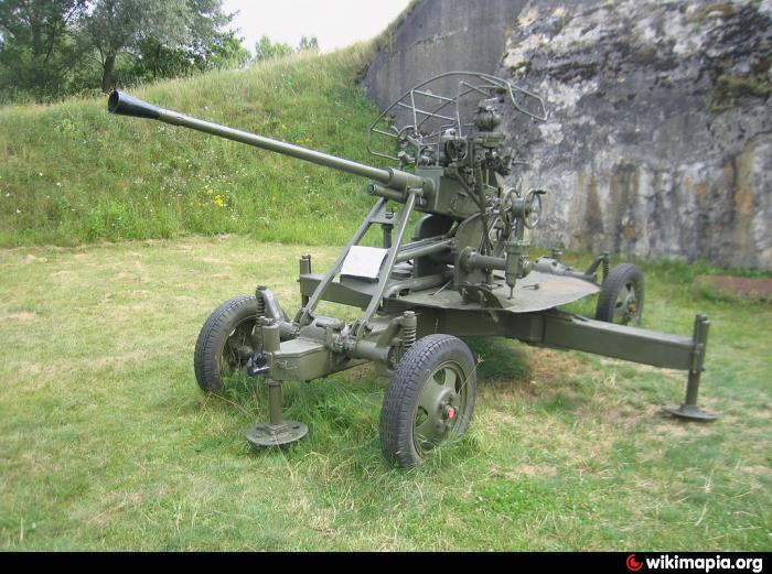 37-мм автоматическая зенитная пушка 61-к образца 1939 года - фото 3
