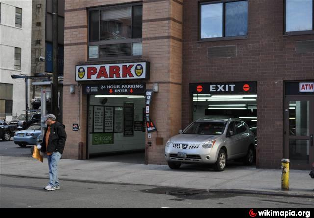 Imperial parking systems underground garage new york for Ny city parking garages
