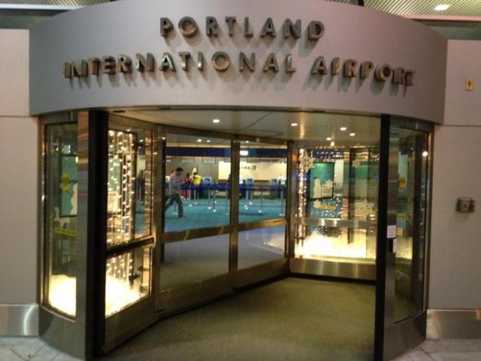 Portland International Airport Terminal Portland Oregon
