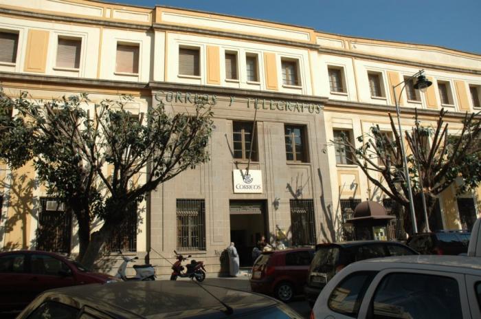 Antigua sede de correos melilla for Oficina correos melilla