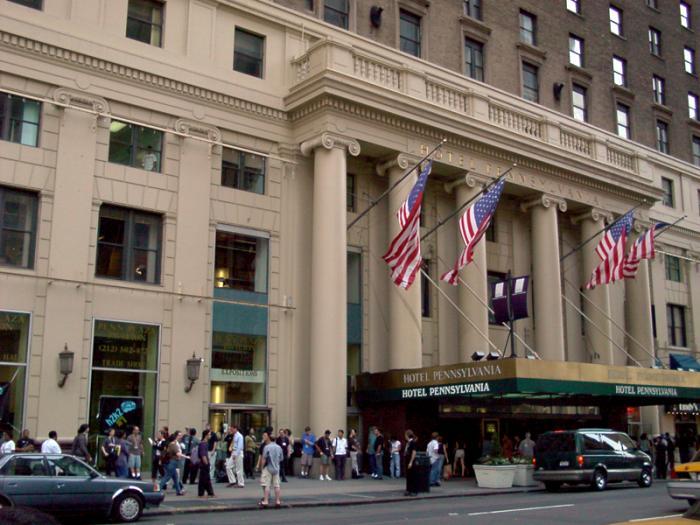 Hotel Pennsylvania New York City New York