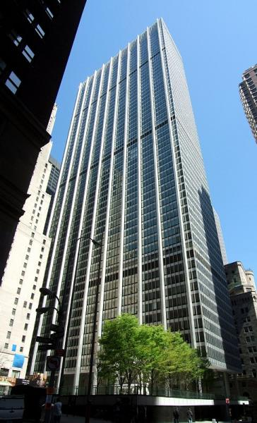 One Chase Manhattan Plaza New York City New York