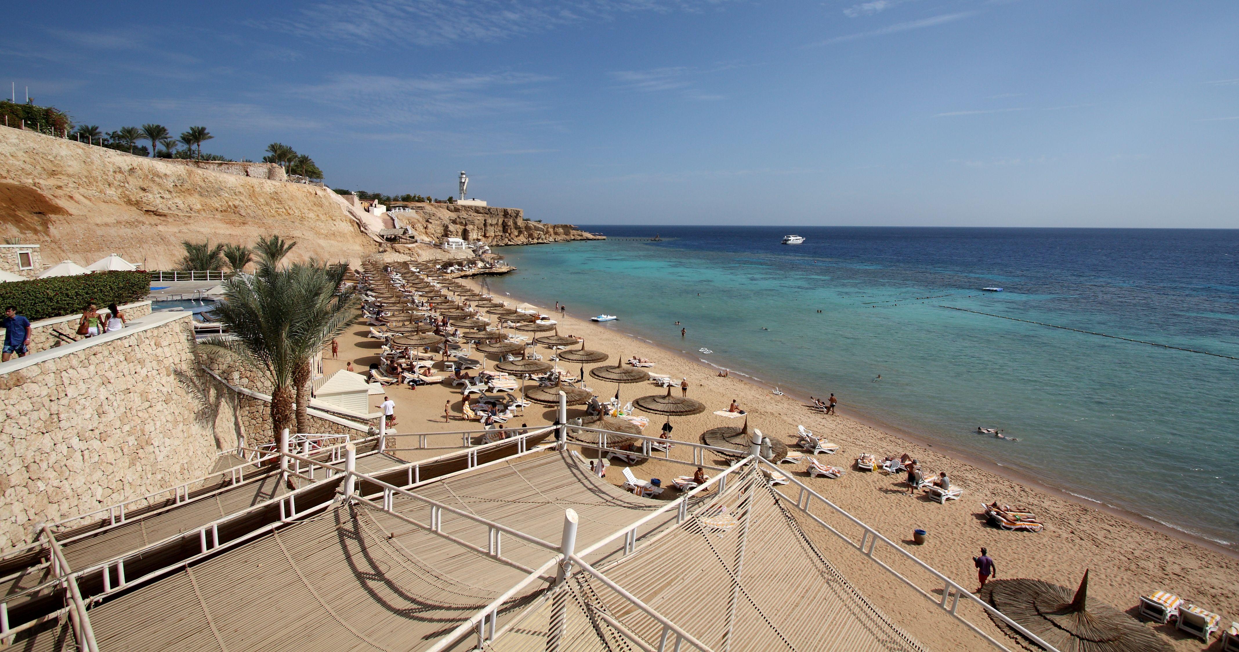 Пляж риф оазис бич резорт шарм эль