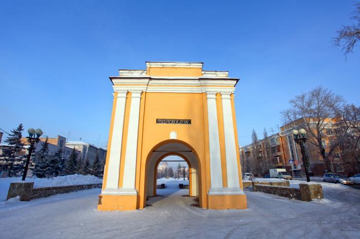 Image result for omsk Tara gates