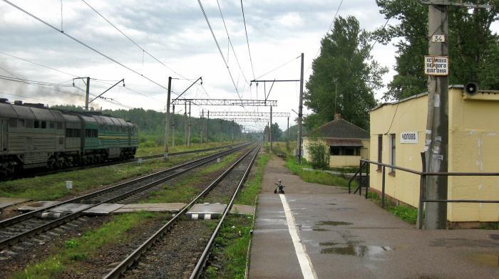 Станция Чолово. Источник: http://wikimapia.org