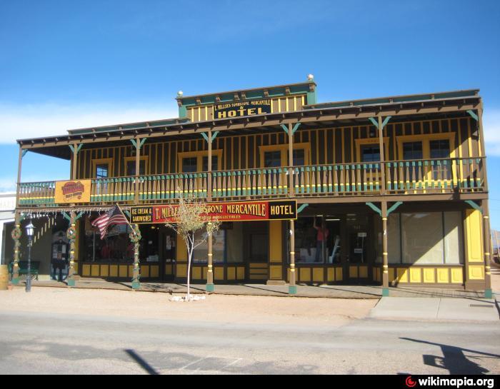 T Miller S Tombstone Mercantile Hotel