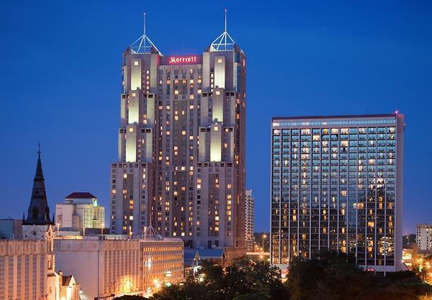 hotels travel satrc antonio marriott rivercenter