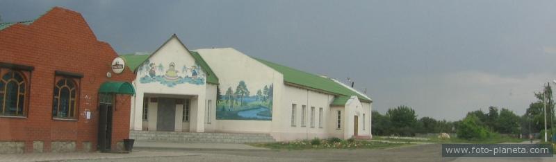 Магазин Попово-Лежачи (Глушковский район) .