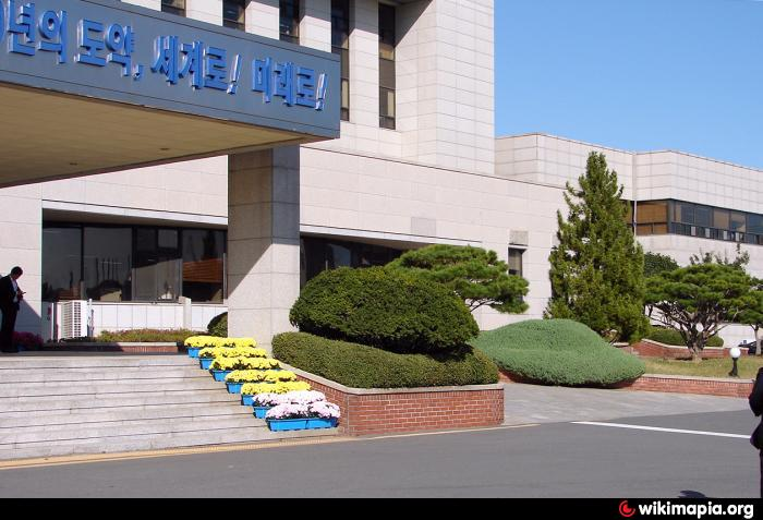 Gwangyang-si South Korea  City pictures : administrative building Add category