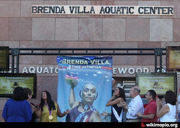 Brenda Villa Aquatic Center Commerce California