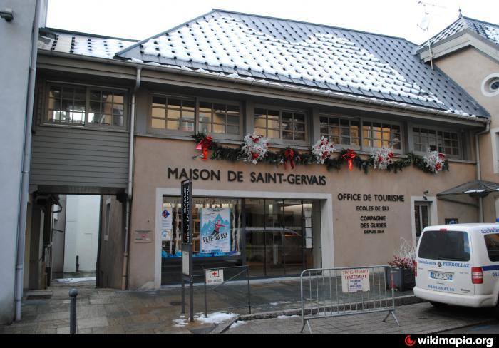 St gervais tourist information office - Office du tourisme st gervais les bains ...