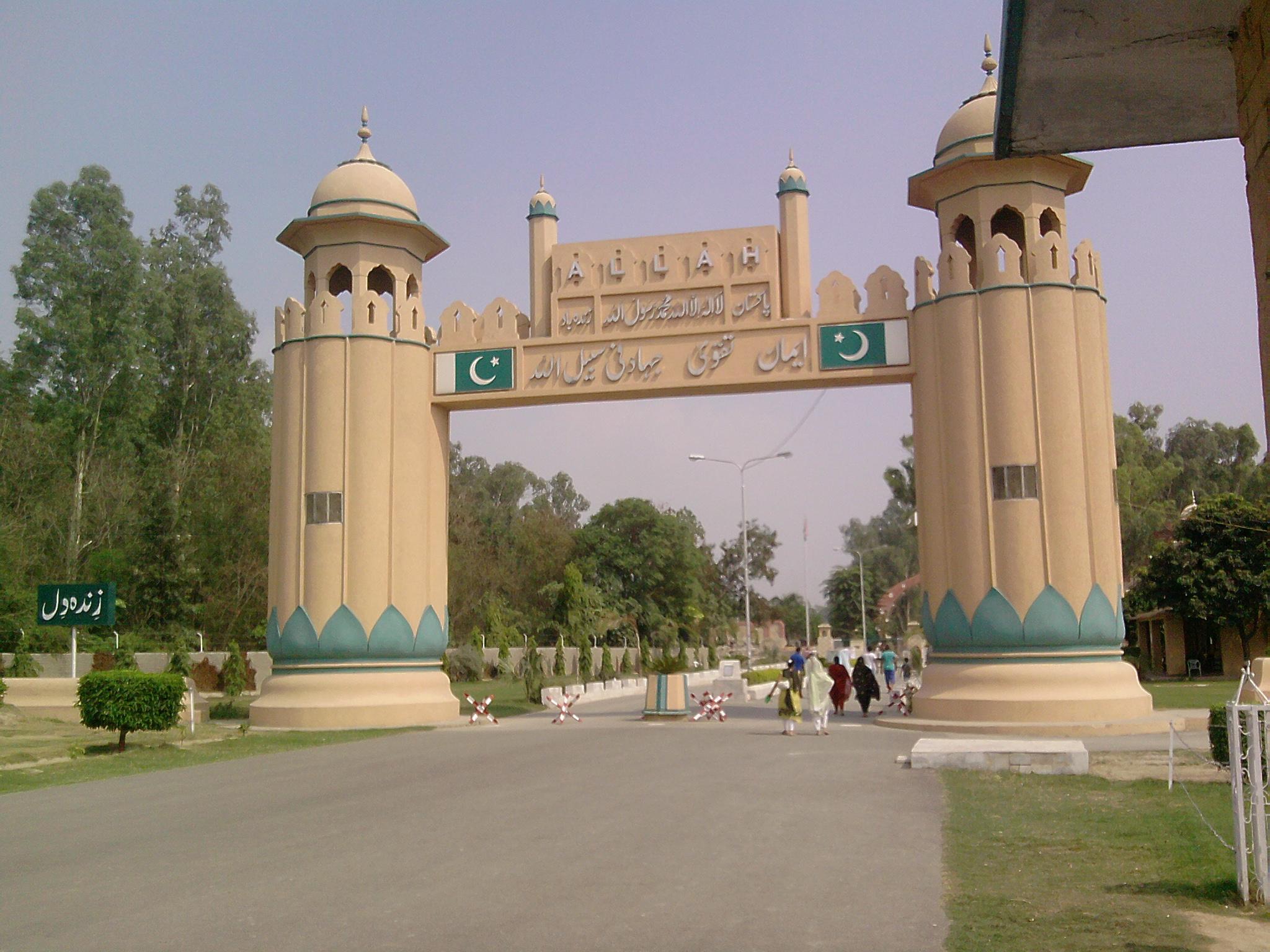 pakistan india border crossing ile ilgili görsel sonucu