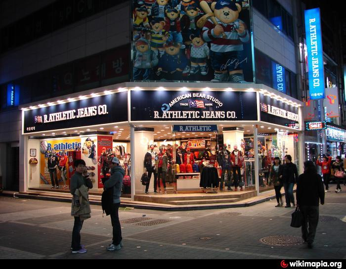 Gwangju Geumnamno Shopping District Gwangju