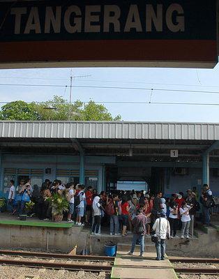 Stasiun Ka Tangerang Tangerang