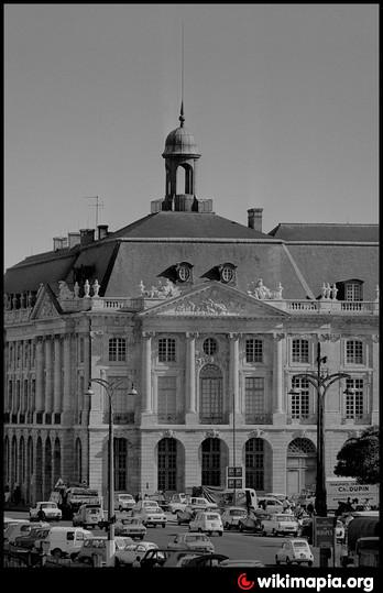 Palais de la bourse bordeaux - Chambre du commerce bordeaux ...