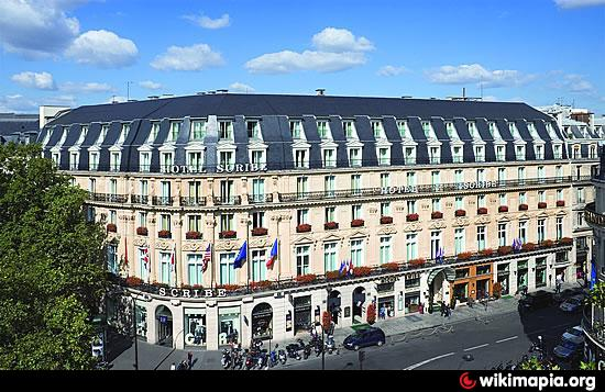 hotel scribe parisno