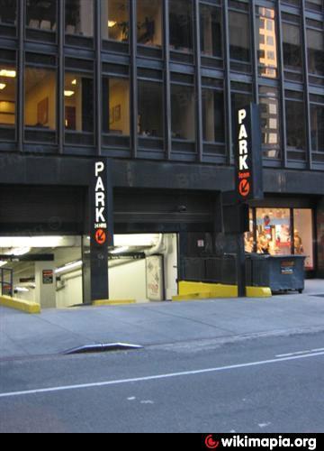 Matinee 52 llc underground parking garage new york for Parking garages new york city