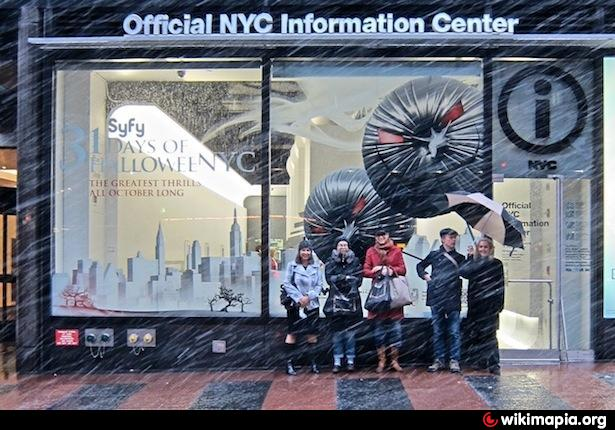 Official nyc information center new york city new york - Tourist office new york city ...