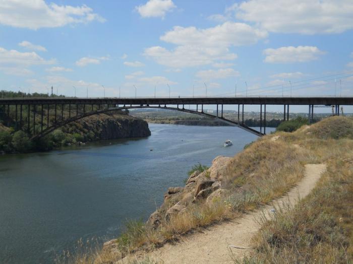 запорожье арочный мост рыбалка
