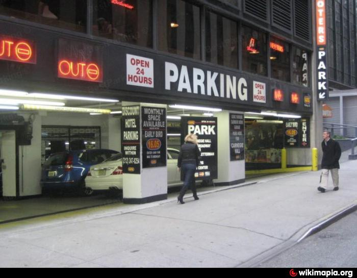Ggmc parking carnegie mews garage new york city new for Ny city parking garages