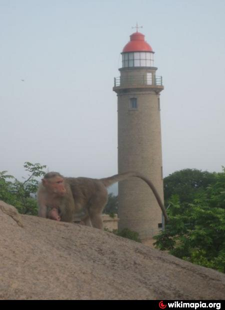 Lighthouse Natural Stone : Mahabalipuram lighthouse mammallapuram