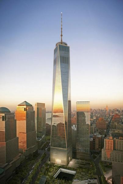 Всемирный торговый центр 1 (1 World Trade Center) - Нью-Йорк 87ae6625adb