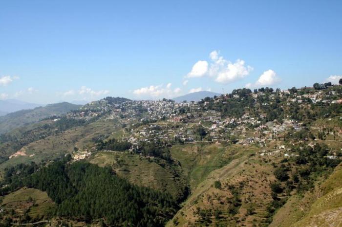 Almora India  city photos gallery : town , district headquarter