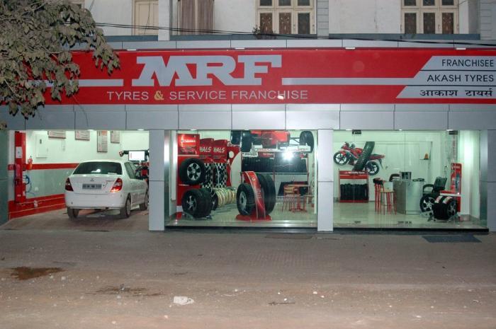 Akash Tyres Raipur