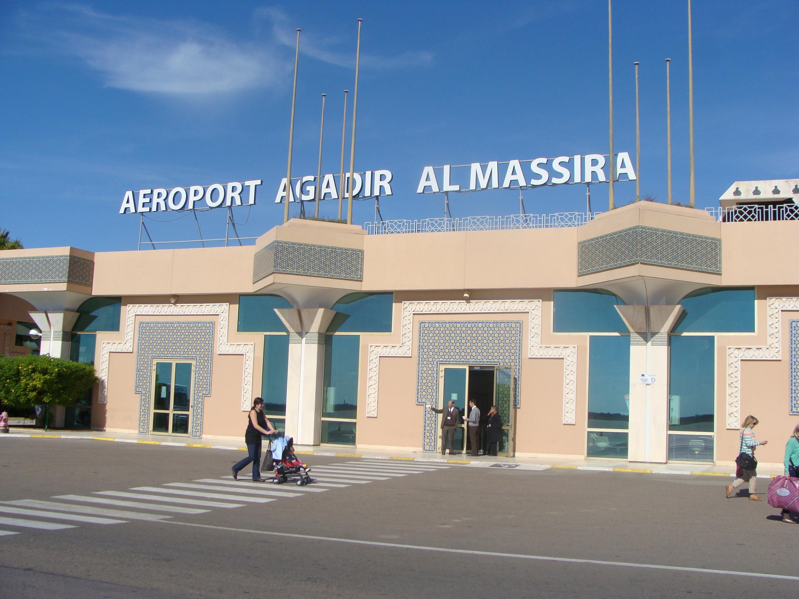 L'aéroport Al Massira d'Agadir (Agadir Al Massira Airport).