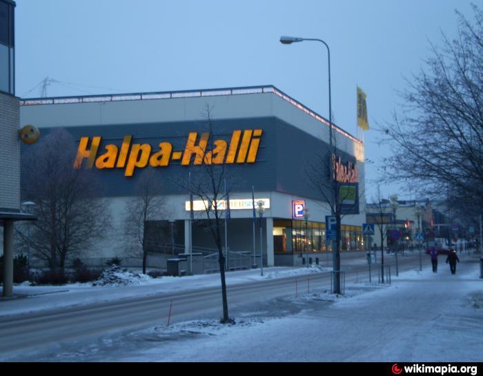 Halpa Halli Seinäjoki
