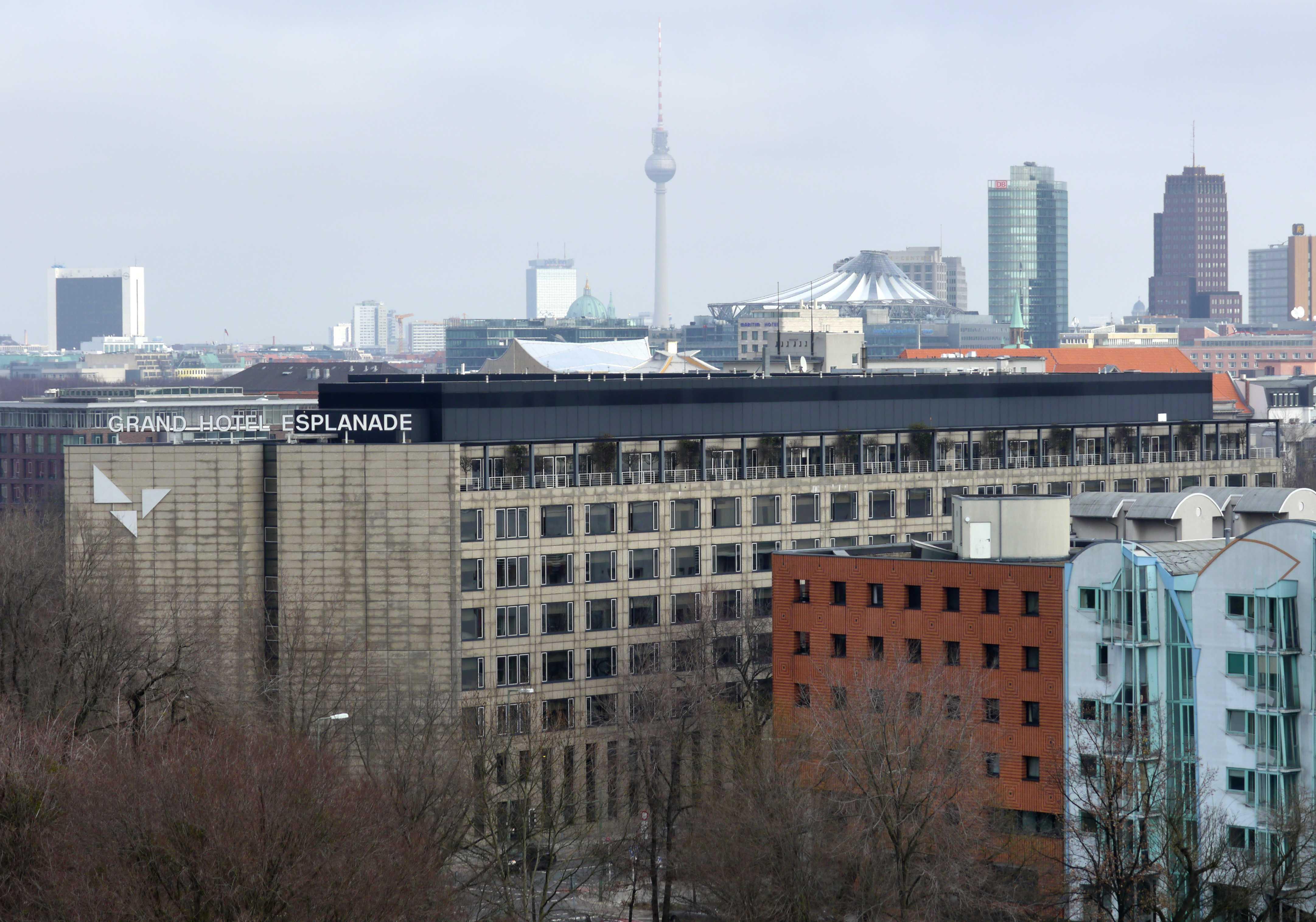Sheraton Berlin Grand Hotel Esplanade Berlin