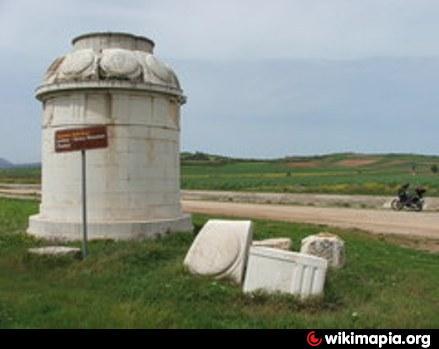 Památník na místě bitvy