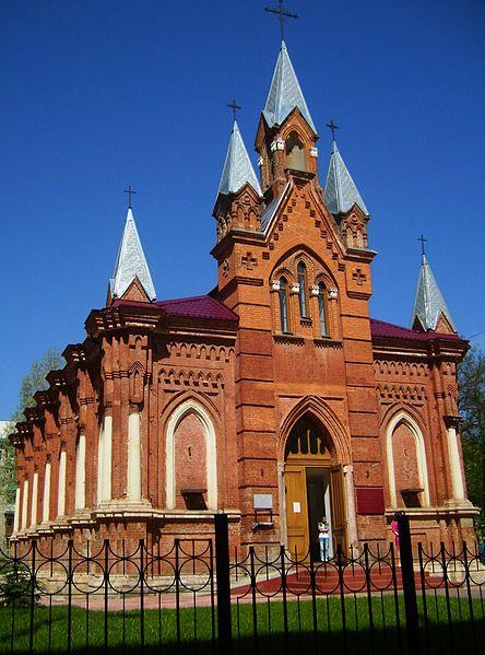 Католический собор Петра и Павла в Туле