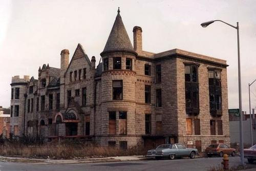 James scott mansion detroit michigan for Building a house in michigan