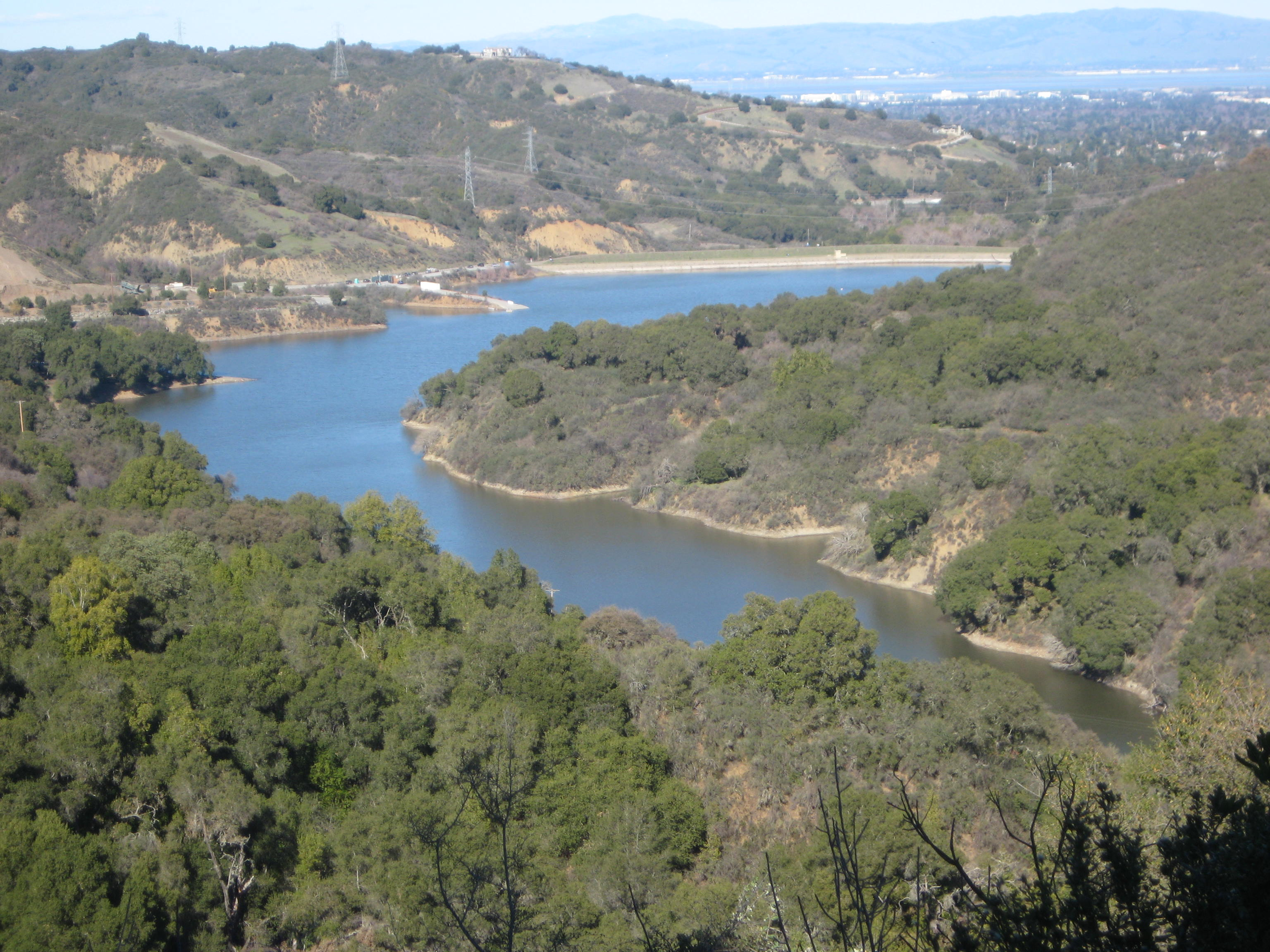 stevens creek reservoir and county park