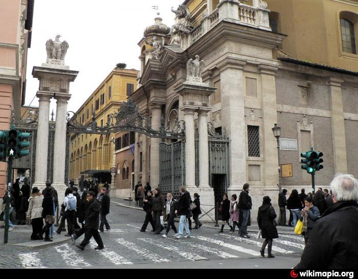 Saint Anne S Gate Rome