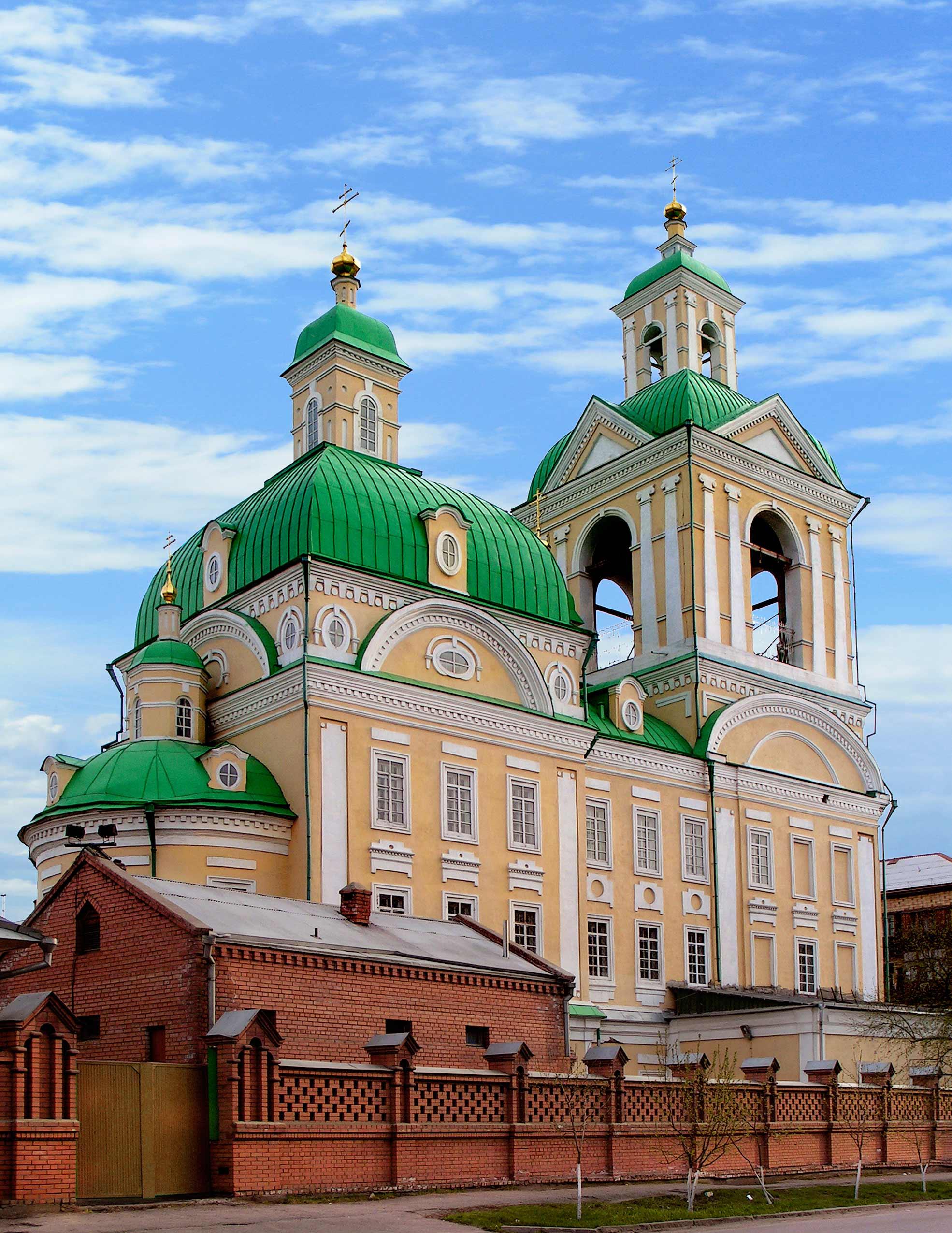 Храм Свято-Благовещенского монастыря
