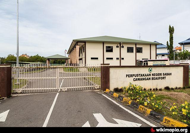 Beaufort Malaysia  city pictures gallery : Sabah State Library Beaufort Branch