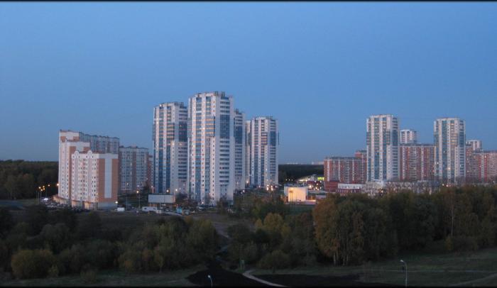 9-й микрорайон Кожухово (район