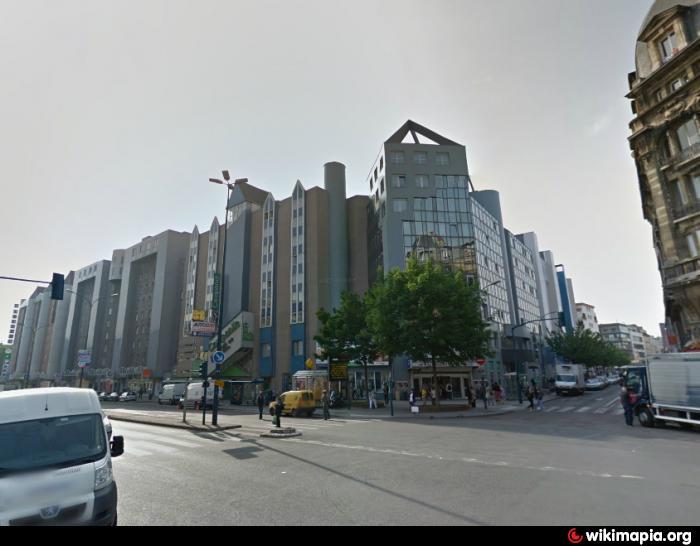 Centre commercial verpantin pantin - Centre commercial porte de la villette ...