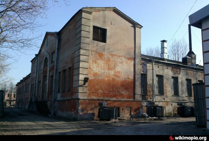 Здание циклотронной лаборатории на Васильевском острове