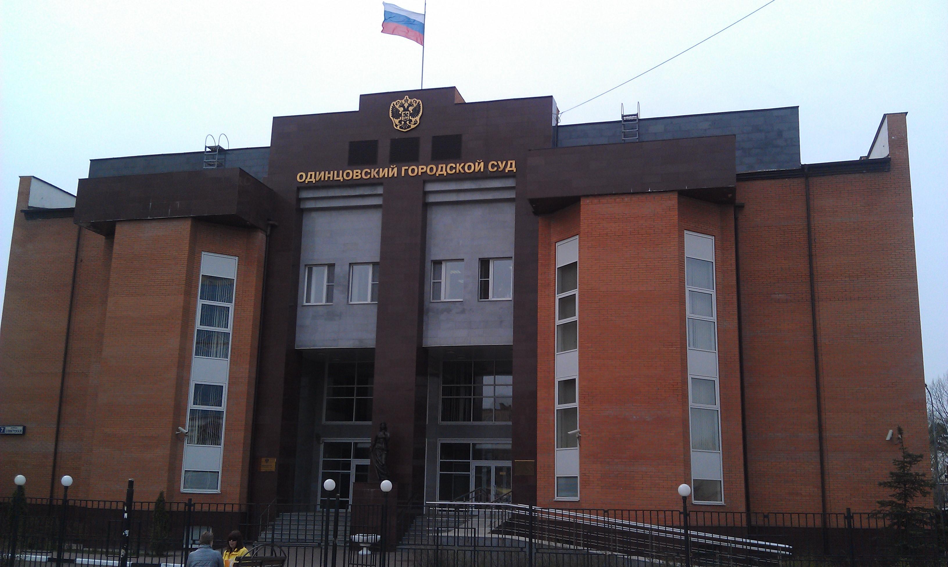 одинцовский суд официальный сайт дела