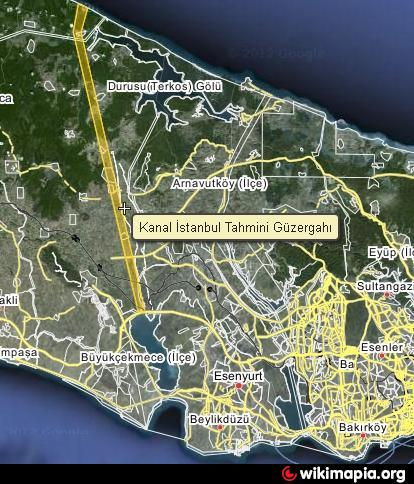 Kanal İstanbul | Wikimapia - Let's describe the whole world!
