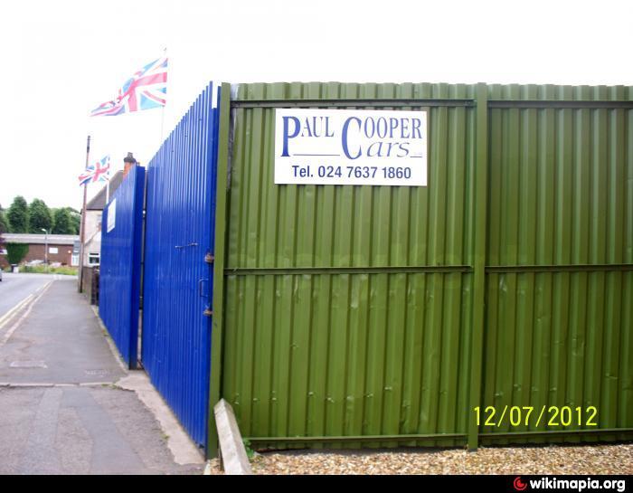 paul cooper cars premises nuneaton yard. Black Bedroom Furniture Sets. Home Design Ideas