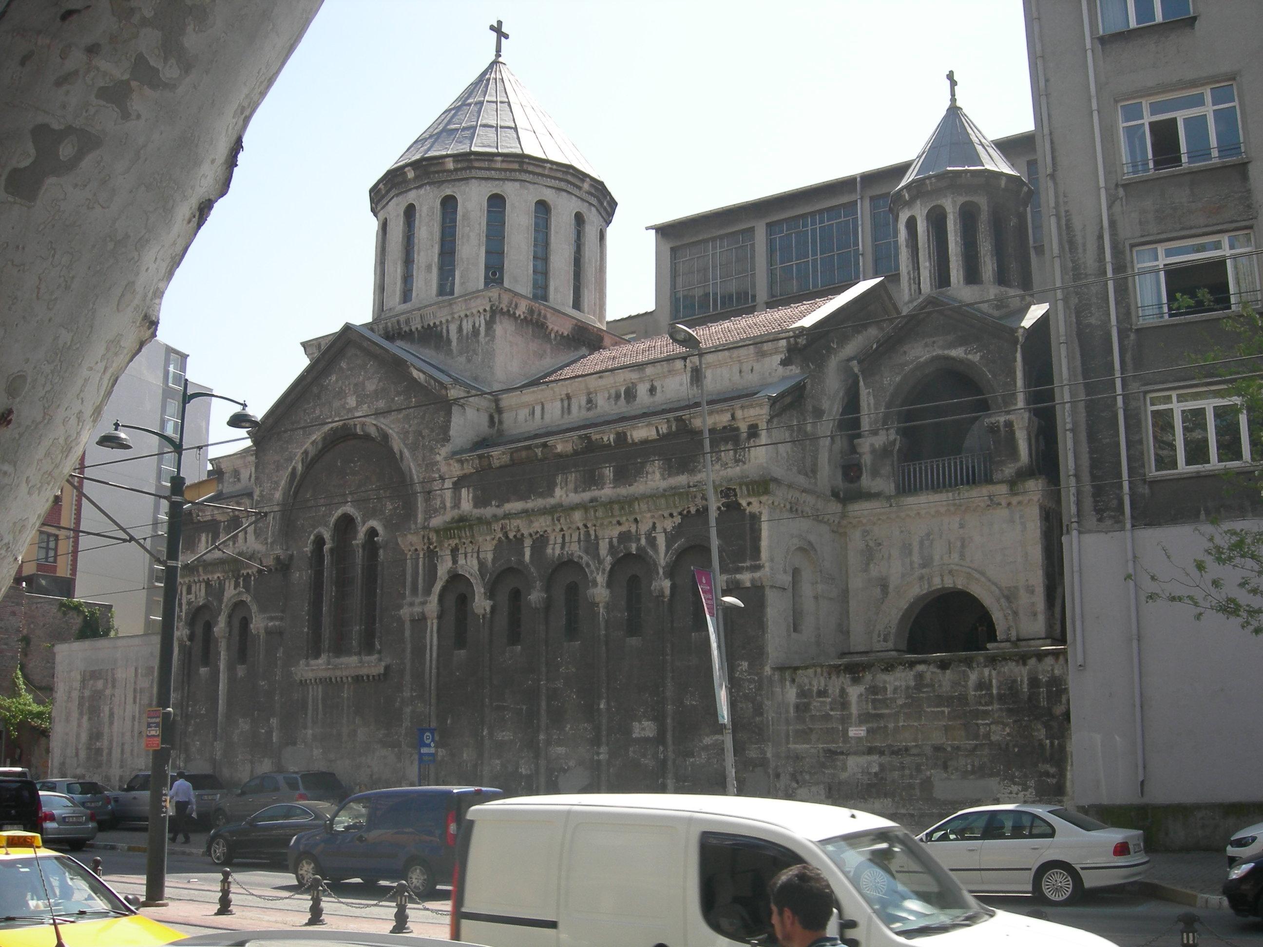 Surp Krikor Lusavorich Armenian Church - Istanbul