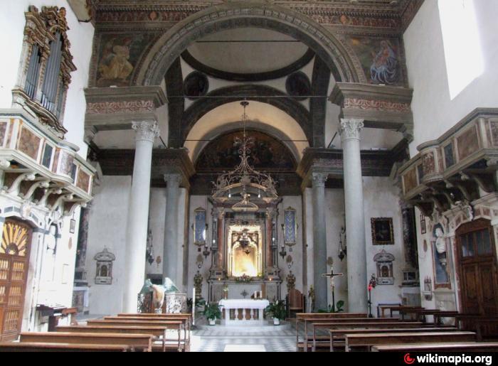 Chiesa di santa maria delle grazie pistoia for Chiesa di san leone pistoia