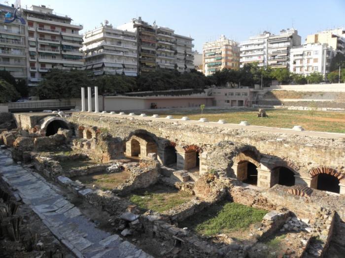 Roman Forum/Ancient Greek Agora - Thessaloniki
