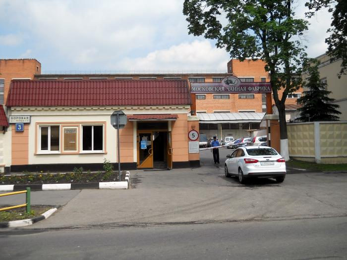 фото чайной фабрика